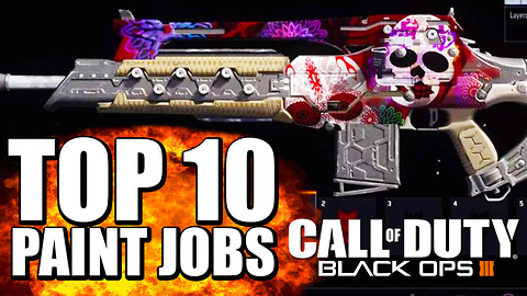 Top 10 custom paint jobs for Black Ops 3