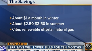 SRP lowering bills for customers - Video