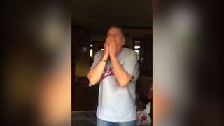 Man Gets Surprise Puppy - Video
