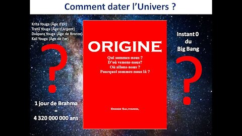 Origine - 05 Datation de l'Univers