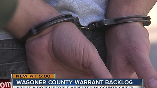 Wagoner County Warrant Sweep Underway - Video