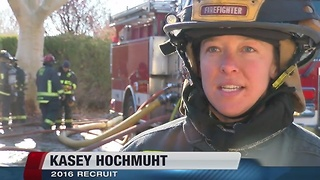 Boise Fire Department recruits more women - Video