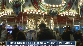Thousands attend First Night Buffalo New Year's Eve Party - Video