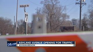 Ashland Ave. open for Billy Joel concert traffic - Video