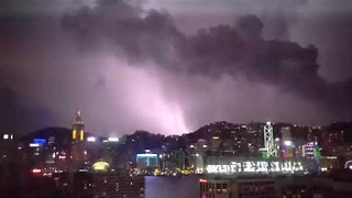 Over 10,000 Cloud-to-Ground Lightning Strikes Recorded in Hong Kong - Video