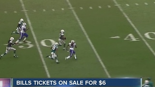Bills vs. Dolphins tickets selling for $6 - Video