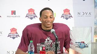 New Mexico State beats Utah State in Arizona Bowl - Video