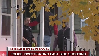 Police investigate serious shooting on Indy's east side - Video