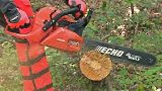 Chainsaw Safety and Proper Operation - Video