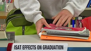 ISAT exam may not be required for high school graduation - Video