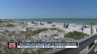 Multi-million dollar plan to preserve Florida beaches - Video