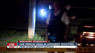 Man shot dead in South Buffalo - Video