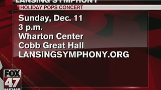Around Town 12/6/16: LSO's Holiday Pops Concert - Video