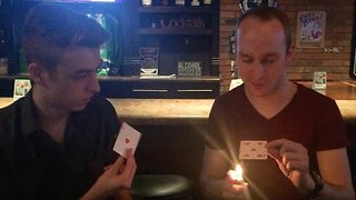 This is No Ordinary Card Trick - Video