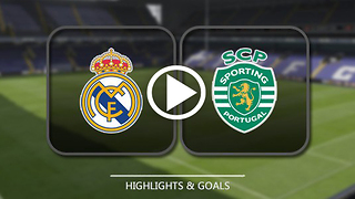 Real Madrid 2 : 1 Sporting CP 15/09/2016 - UEFA champions league goals - Video