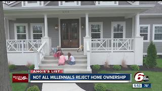 Angie's List: Not all Millennials are content paying rent - Video