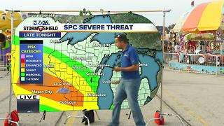 Storm Shield Forecast at Cameron's Weather Roadshow - Video