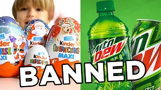 10 Banned Foods - WTF?!? - Video