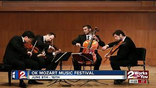OK Mozart Music Festival takes place in Tulsa - Video