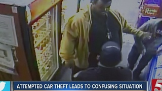 Attempted Car Theft In East Nashville Leads To Confusing Situation - Video