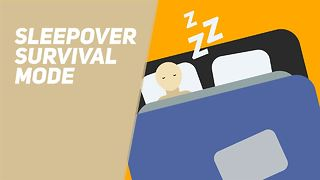 Sleepover survival mode - Video