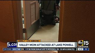 Scottsdale mother stabbed at Lake Powell - Video