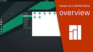 Manjaro 20.2 GNOME Edition overview | #FREE OPERATING SYSTEM.