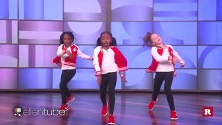 Kids with serious dance moves on