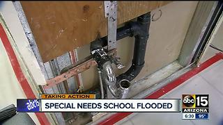 Water leak damages Tempe non-profit special needs school