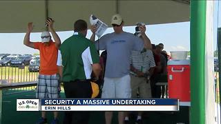 U.S. Open Security a massive undertaking - Video