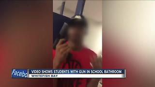 Two teens arrested for bringing loaded gun to Whitefish Bay High School - Video