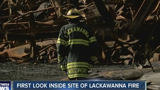 First look inside Bethlehem Steel after fire - Video