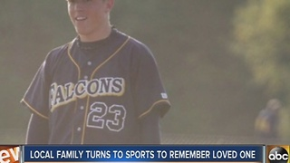 Severna Park family turns to sports to remember loved one - Video