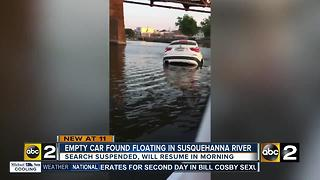 BMW found in Susquehanna River - Video