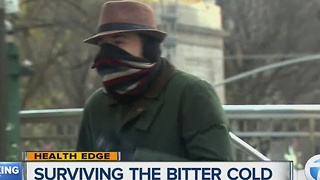 Surviving the bitter cold - Video