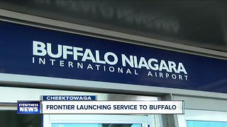 Frontier Expands Services to Buffalo - Video