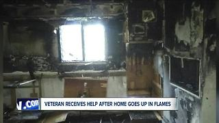 Veteran loses home to fire - Video
