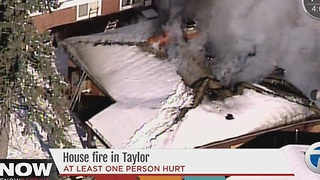 House explosion in Taylor - Video