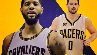 Paul George Being TRADED to the Cavs for Kevin Love!? - Video