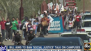 Bill filed in Arizona legislature would ban social justice discussions on school campuses - Video