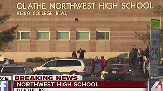 Gun found at Olathe Northwest High School - Video
