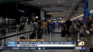 Busiest July 4th Holiday Ever, Says AAA - Video