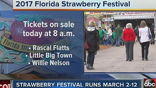 Florida Strawberry Festival tickets go on sale Thursday