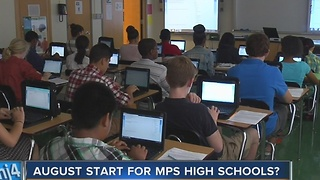 Milwaukee Public Schools plan to change school year start, end dates advances - Video