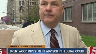 Judge Rejects Plea Deal Of Former Investment Advisor - Video