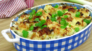 Alternative low carb baked potato dish - Video