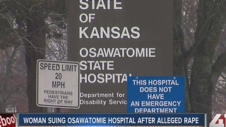 Woman suing Osawatomie State Hospital