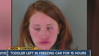 Affidavit: Woman who left child in freezing car overnight had taken shots of vodka - Video