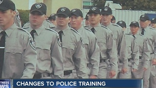 Police training changing - Video