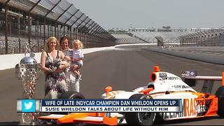 Dan Wheldon's widow talks about new venture, life since her husband's death - Video